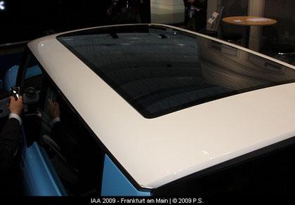 Elektrotrabi, Trabant nt,  Solardach, wie es sich für ein Elektroauto gehört