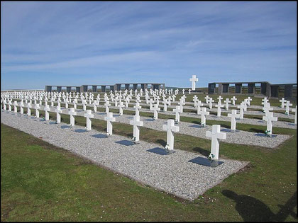 Cementerio Argentino en Darwin(Islas Malvinas)