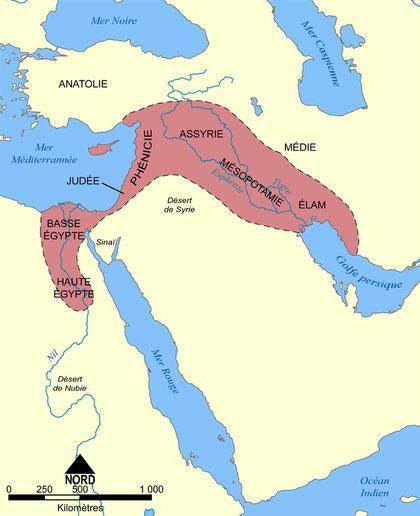 Le jardin d'Eden se situait entre le Tigre et l'Euphrate. Ces deux fleuves ont ensuite formé, avec le Nil, le croissant fertile où sont nées les premières civilisations. C'est dans le Nil que Pharaon a ordonné le massacre de tous les garçons nouveau-nés.