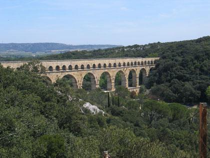 Pont du Gard -Bauwerk der Antike-