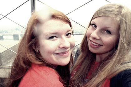 Hannah und ich auf dem Empire State Building