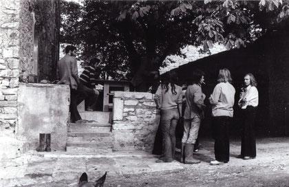 Le Pigeonnier 1973, kurz nach der Gründung der Kooperative in Frankreich