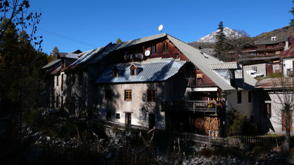 Die Spinnerei von Chantemerle, Hautes Alpes