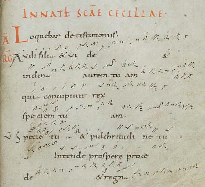 Cantatorium de Saint-Gall, ms 359 f°137, vers 922-925