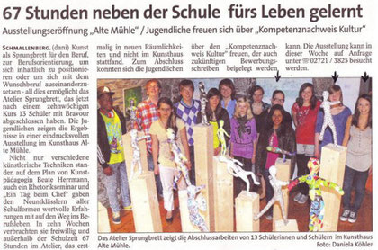 Westfalenpost, 18.07.2011