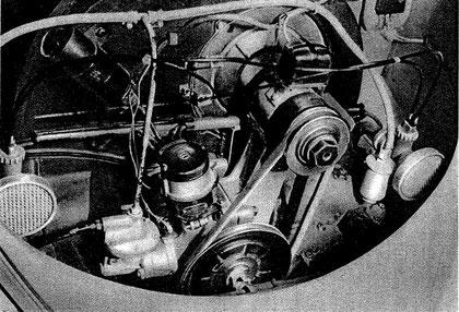 AMAL Zweivergaseranalge von 1950