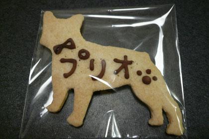 プリオクッキーも付けてもらいました♪
