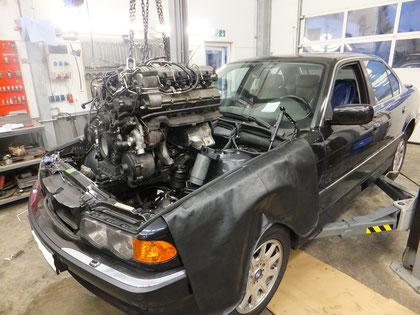 BMW M67 Motor Ausbau