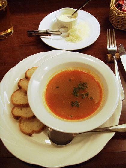 <お魚の裏ごしスープ>
