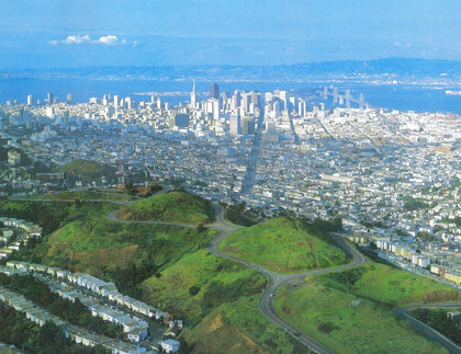 ABOVE SANFRANCISCO BY R.CAMERON AND H.CAENから