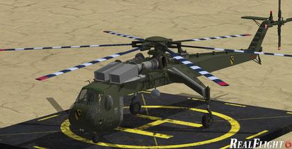 CH-54 Tarhe by Sikorsky