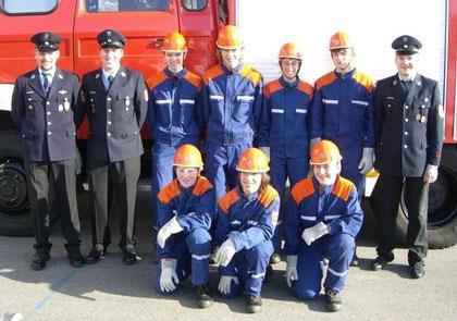Bestandene Jugendflamme 2008 in Schaufling
