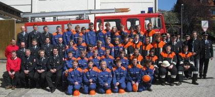 Bestandene Jugendleistungsprüfung 19.04.2009 in Lalling