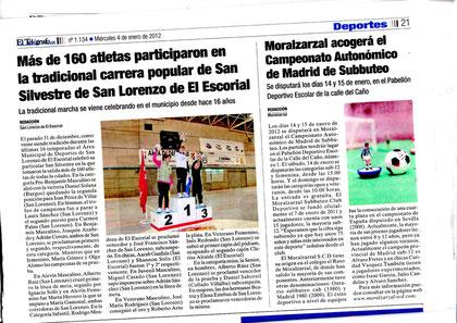 La prensa se hace eco del torneo. Periodico el Telegrafo.