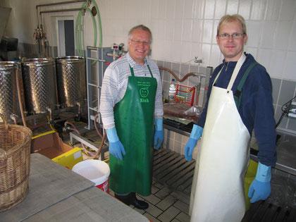 Günther Möschl und Jürgen Glink
