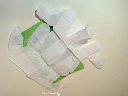 Maschera guanti Shaka prima dell'utilizzo