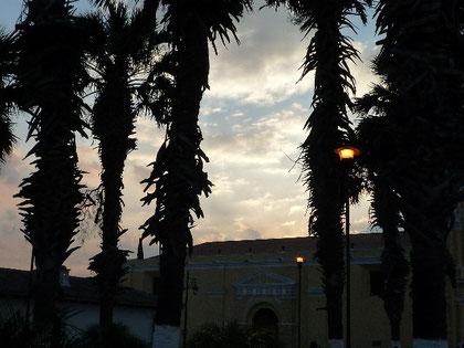 アンティグアの夕暮れ