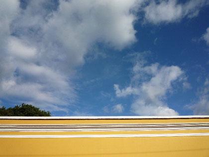ある日のアンティグアの空