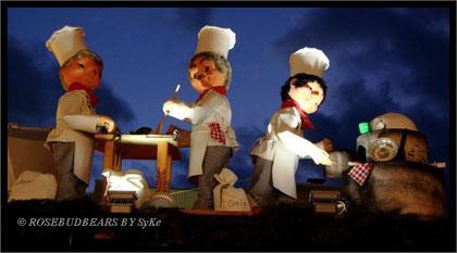 Bäcker auf dem hannoverschen Weihnachtsmarkt