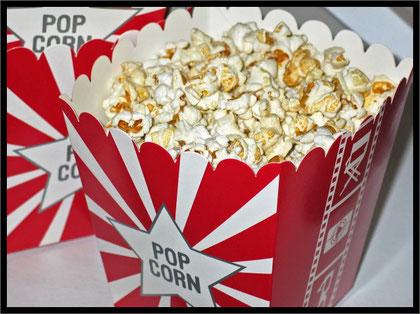 kein Kino ohne Popcorn - danke pixabay für schöne Fotos