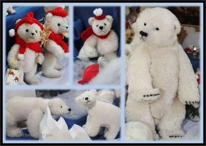 Eisbären in der Bärenhöhle