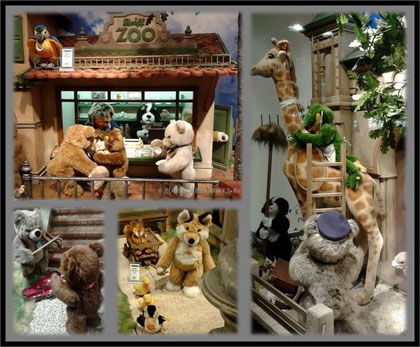 Steiff-Zoo in der Galeria Kaufhof Hannover 2015