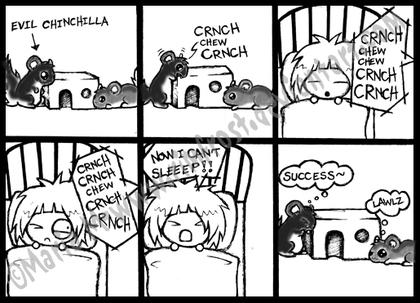 Fuente: http://rimfrost.deviantart.com/art/Comic-Evil-Chinchilla-69746217