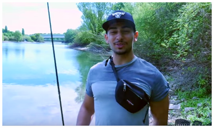 "Hasan von den ""Fishing Bros"""