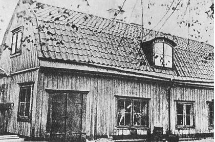 ストックホルムのホルンスガータンにあったスウェーデンボルグの家
