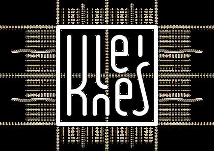 Konstruktionszeichnung: Logo Kleines Cafe Hamburg Othmarschen