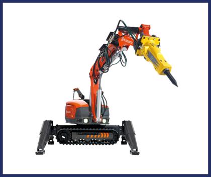 Robots de demolición Husqvarna DXR 300