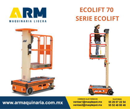 ECOLIFT 70 SERIE ECOLIFT
