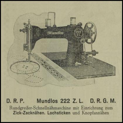 1928 Mundlos 222 ZL