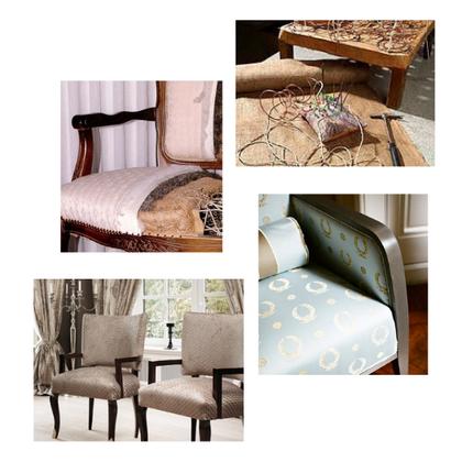 Polstern - von den Einzelteilen bis zum fertigen Sessel