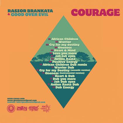 Raszor Brankata Courage cover