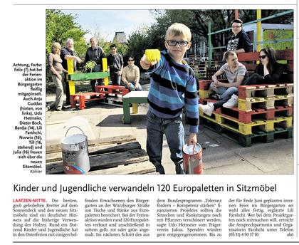 HAZ/Leine-Nachrichten v. 22.04.2014