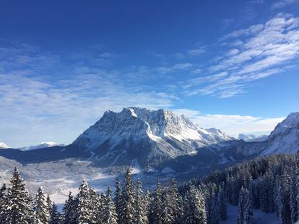 Skigebiet Ehrwald an der Zugspitze