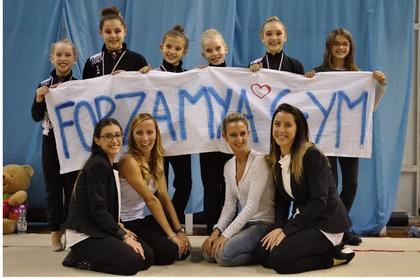 serie C: Anna Tamagnini, Elettra Massini, Rebecca Melanie Righi, Caterina e Sofia Arcangeli