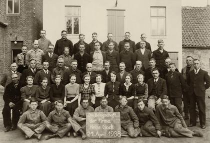 Belegschaft 1938