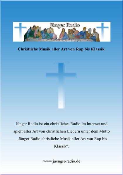 Plakat von J�nger Radio