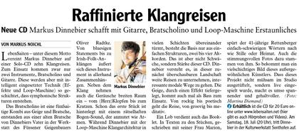Allgäuer Zeitung, 27.06.20 von Markus Noichl