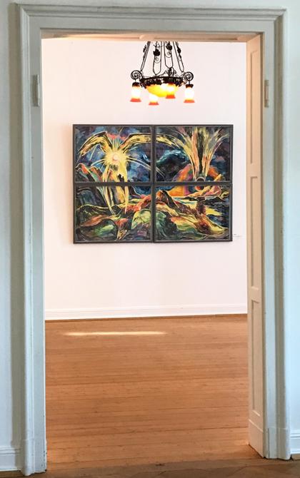 Retrospektive im Museum Villa Stahmer, 2017