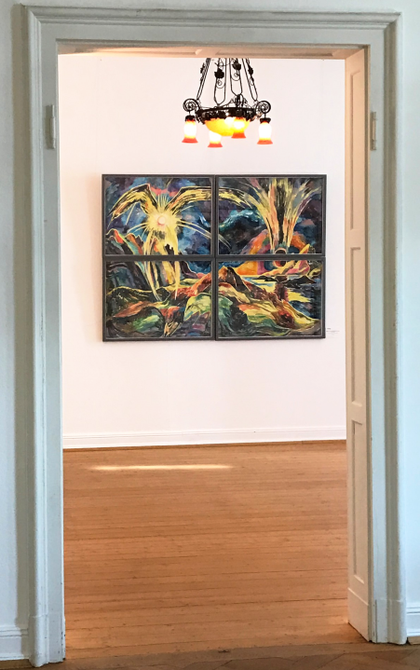 Retrospective at the Museum Villa Stahmer, 2017