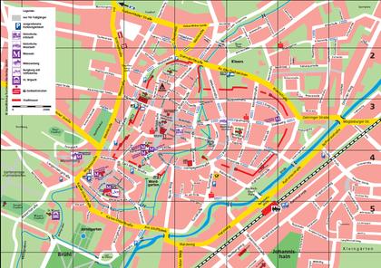 Stadtplan Quedlinburg