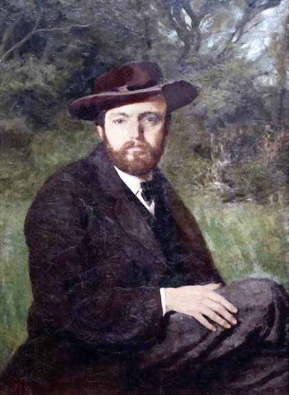 Selbstportrait, 1871