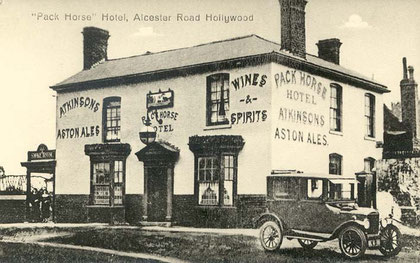 The Packhorse 1910. Image, now free of copyright, downloaded from the late Peter Gamble's now defunct Virtual Brum website.