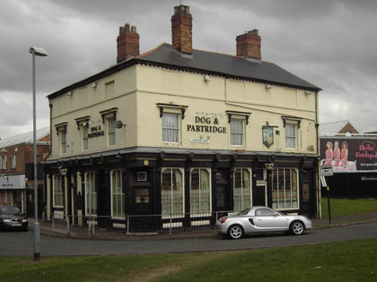 On the sole surviving part of Ashted Row, the 19th-century Dog & Partridge public house is the only building that now remains of Ashted. It is no longer a pub.