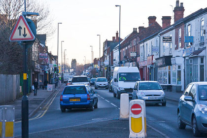 Stirchley (looking south) - Image on flickr by katchoo/ Fiona Cullinan, reusable under Creative Commons licence Attribution-NonCommercial-NoDerivs 2.0 Generic (CC BY-NC-ND 2.0)
