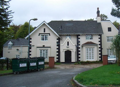 The 19th-century Wood End Hall, a Grade A Locally Listed building at Little Wood End