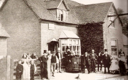 The old Gate Inn 1870s from Birmingham History Forum